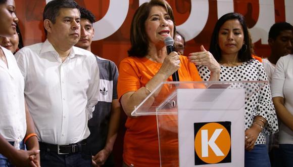 Martha Chávez criticó el fallo que ordenó que Keiko Fujimori vuelva a prisión.  (Foto: GEC)