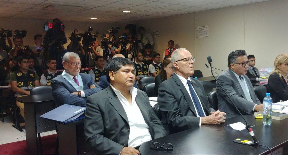 El ex presidente PPK estuvo presente en la audiencia para sustentar su apelación a la detención preliminar que se dictó en su contra. (Foto: Difusión)
