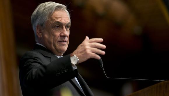 Sebastián Piñera, presidente de Chile. (Bloomberg)