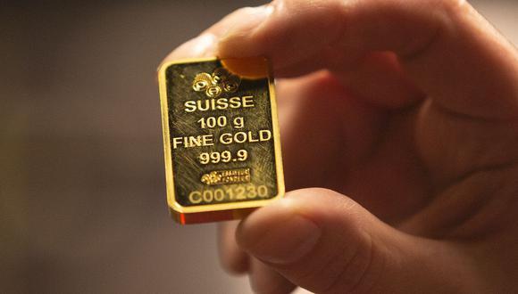 Los futuros del oro en Estados Unidos caían un 0.2% a US$ 1,774.90. (Foto: AFP)