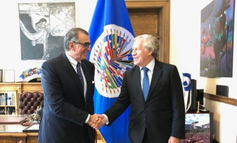 """""""Fue un encuentro importante para fortalecer el Congreso"""", señaló Pedro Olaechea. (Foto: Congreso)"""