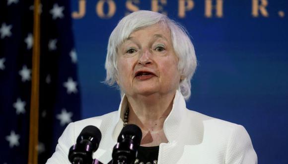 Secretaria del Tesoro de Estados Unidos, Janet Yellen. REUTERS/Leah Millis/File Photo