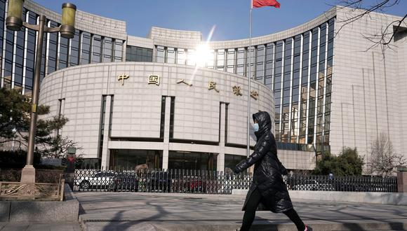 Banco Popular de China. (Foto: Reuters)