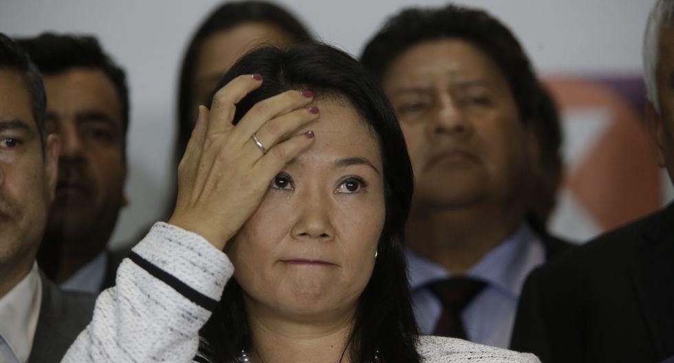 """""""Esta es una oportunidad para un nuevo comienzo"""", dijo Keiko Fujimori. (Foto: USI)"""