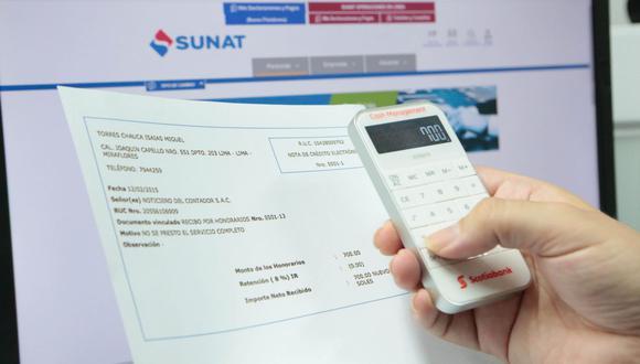 Es importante emitir correctamente la factura electrónica. (Foto: GEC)
