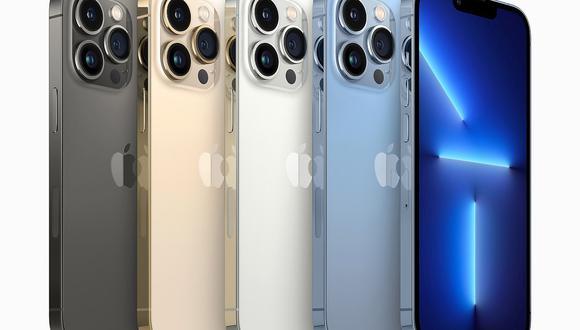 Apple lanzó al mercado el nuevo iPhone 13 y otros productos. (Foto: EFE)