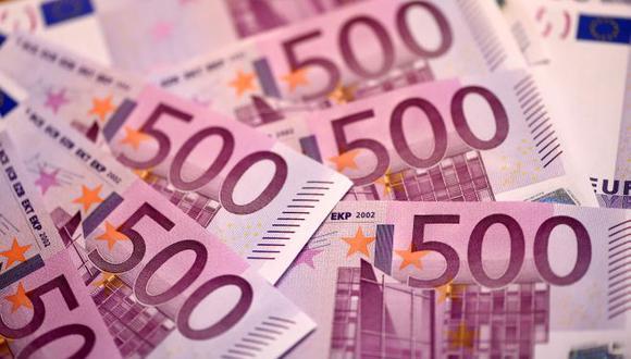 Billetes de 500 euros. (Foto: AFP)