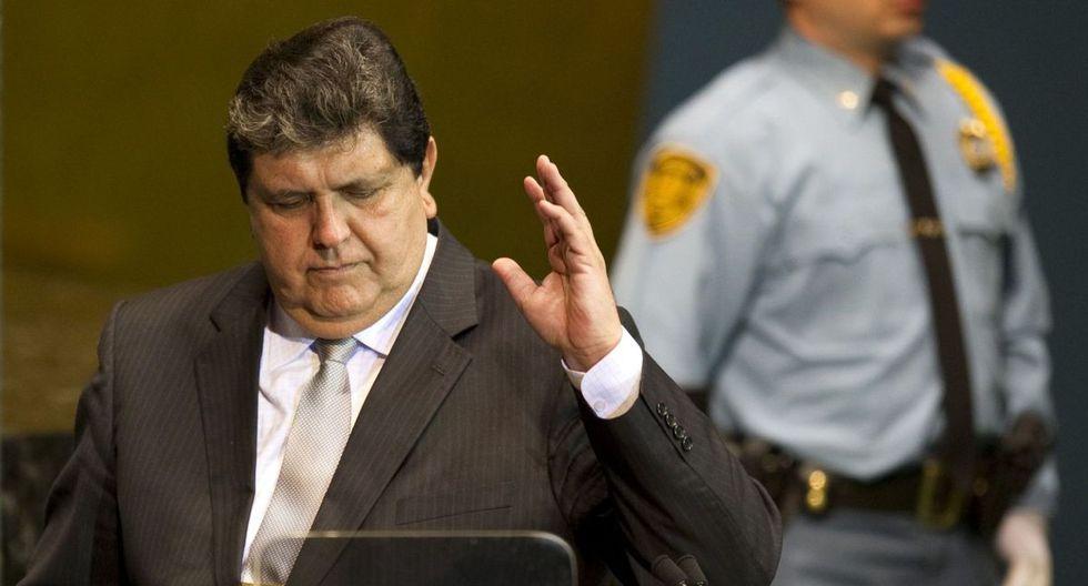 Alan García (Foto: AFP)