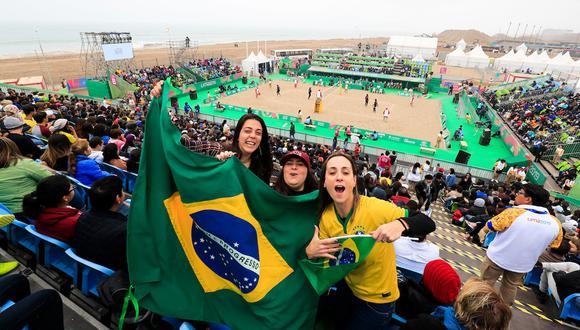 Los Juegos Panamericanos Lima 2019 han sorprendido por la gran afluencia de público. (Foto: Juan Carlos Guzmán / Lima 2019)