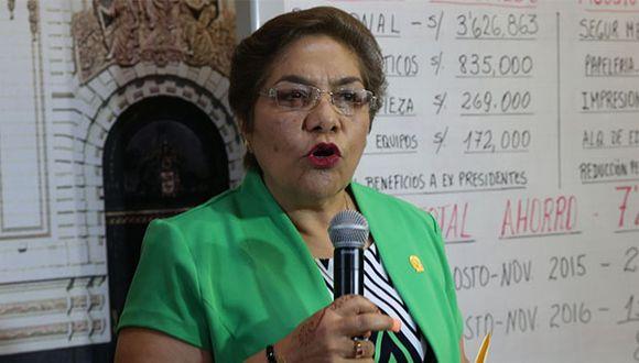Luz Salgado resaltó la disposición del mandatario por colaborar en la investigación. (Foto: Agencia Andina)