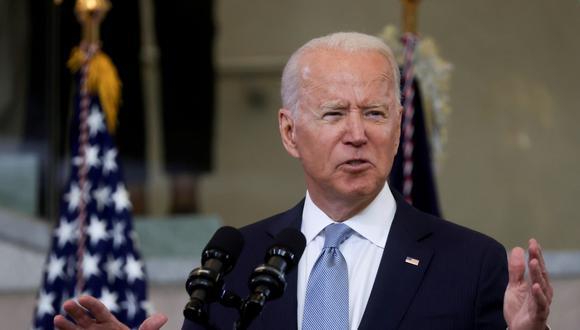 El paquete está valorado en US$ 1.2 billones a lo largo de ocho años, una cifra inferior al que propuso inicialmente Biden en marzo, de US$ 2.3 billones, y que la Casa Blanca tuvo que rebajar ante las críticas de los republicanos. (Foto: Reuters)