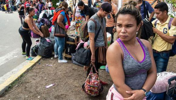 Migrantes venezolanos. (Foto: Getty)