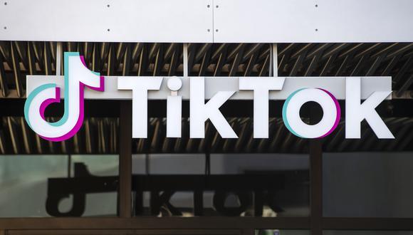 Vista general del edificio de TikTok en Culver City, California. (VALERIE MACON / AFP)