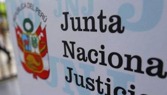 Junta Nacional de Justicia (JNJ). (Foto: GEC)