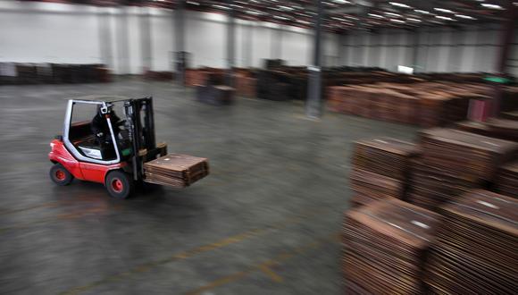 El contrato de cobre de noviembre en la Bolsa de Futuros de Shanghái cerró con una caída del 0.8%. (Foto: Reuters)