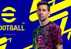 """""""eFootball 2022"""", el heredero del PES, saldrá a la venta el 30 de setiembre"""