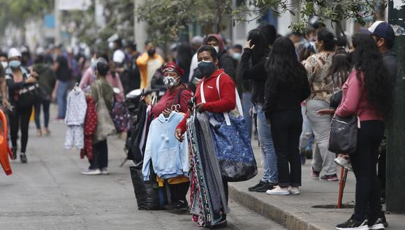 En el Perú hay más de 9 millones de personas en condiciones de informalidad laboral. solo en las zonas urbanas. (Foto: GEC)