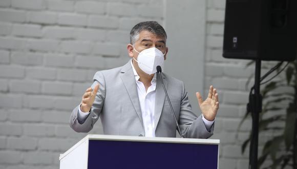 Julio Guzmán planteó llevar adelante un referéndum en torno al proyecto Tía María