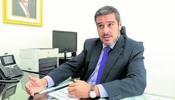 Visión. Viceministro Daniel Sánchez dijo que la defensa de derechos humanos beneficia a todos. (Foto: GEC)