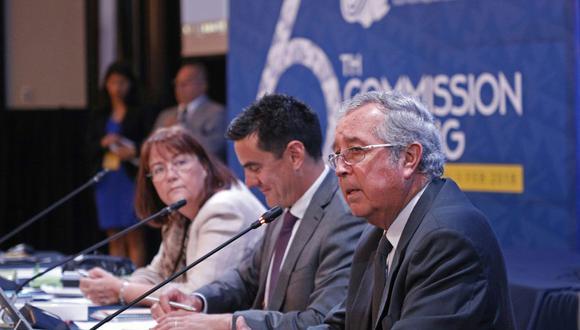 El viceministro Soldi ejerce el cargo de vicepresidente de la Comisión de la OROP-PS por un periodo de dos años.