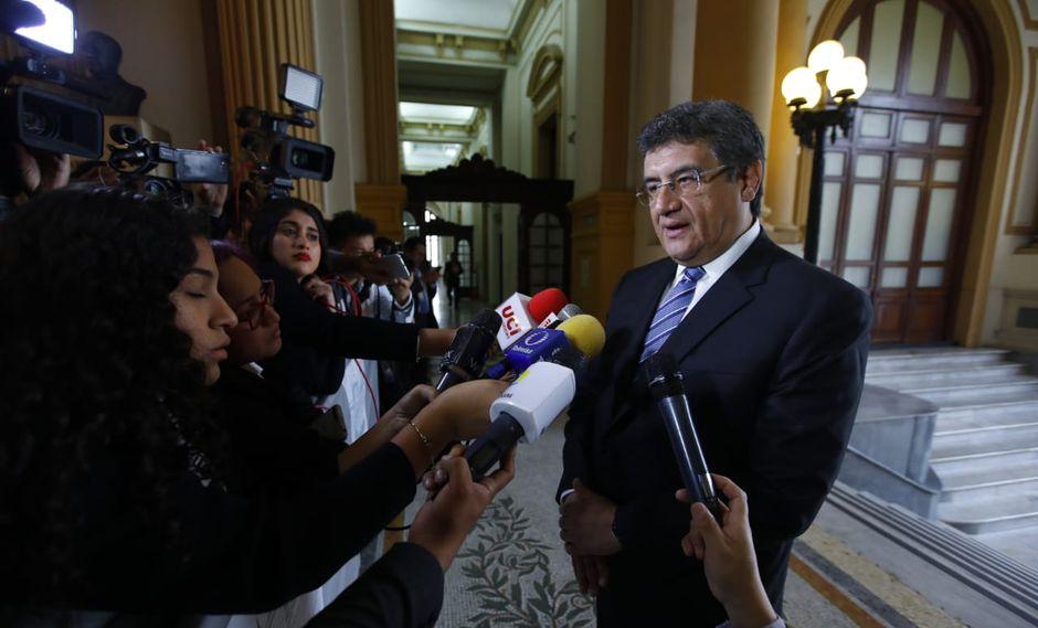 El congresista Juan  Sheput dijo que Daniel Salaverry sería uno de los candidatos que tendría el respaldo de Martín Vizcarra. (Foto: Congreso)