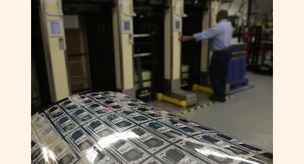 El Bureau of Engraving and Printing (Oficina de Grabado e Impresión) pertenece al Departamento del Tesoro de EE.UU. y tiene dos sedes, una en Washington y otra en Forth Worth, Texas. (Foto: Reuters)