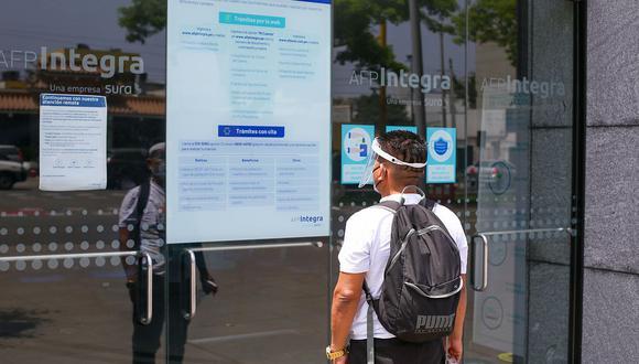 El trámite para presentar la solicitud para el retiro de hasta  S/ 17,600 es 100% virtual. (Foto: GEC)