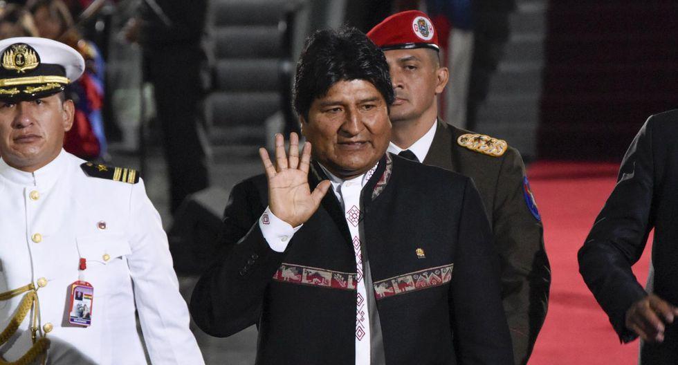 Evo Morales. (Foto: Bloomberg).