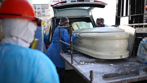 La cifra de muertos aumentó este martes, según el Ministerio de Salud. (Foto: Hugo Curotto/GEC)