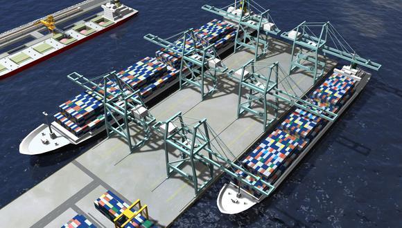 Terminales Portuarios Chancay S.A. ahora tiene un plazo de 6 años para ejecutar inversiones por US$447.1 millones a fin de acceder a la devolución anticipada del IGV.(Foto: GEC)