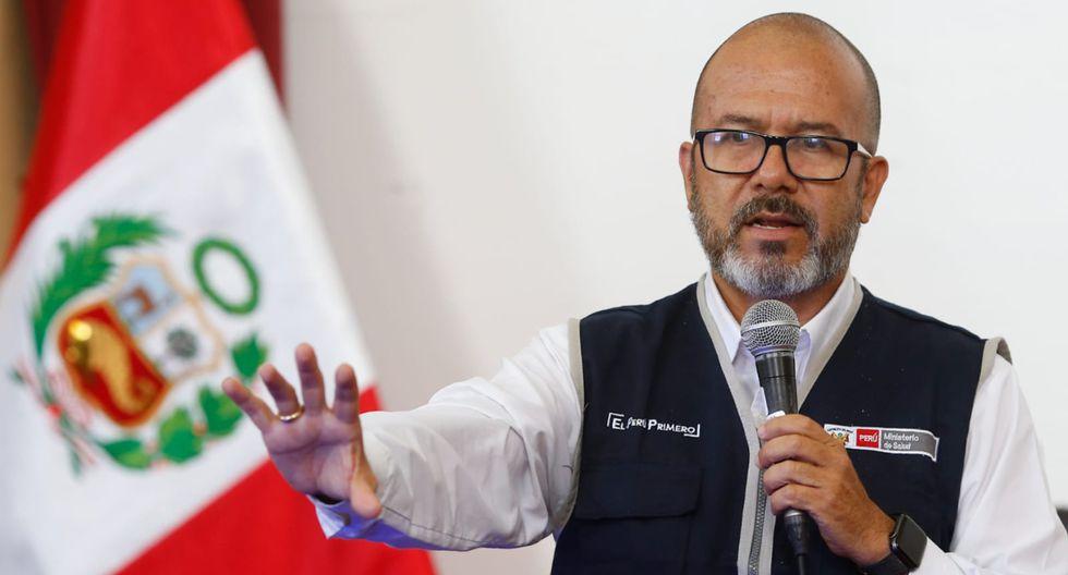 Víctor Zamora dijo que su continuidad en el Ministerio de Salud depende del presidente Martín Vizcarra. (GEC)