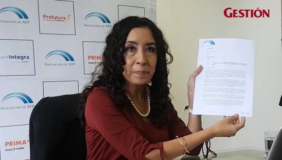 Giovanna Prialé, presidenta de la AAFP