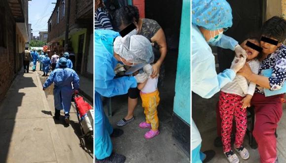 Minsa confirma caso caso de difteria en niña de 5 años que ahora está hospitalizada en Dos de Mayo y su estado es estable. (Foto: Minsa)
