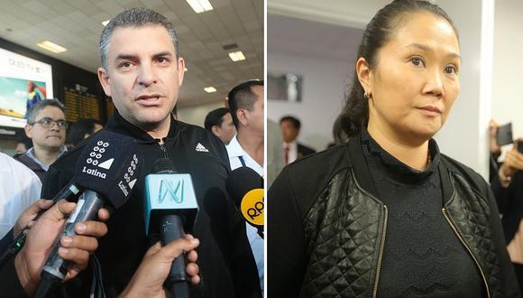 Rafael Vela indicó que es posible que antes de fin de año el fiscal José Pérez presente la acusación contra Keiko Fujimori por presunto lavado. (Foto: GEC)