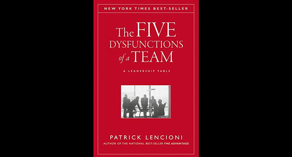 FOTO 2 | 2. The five dysfunctions of a team