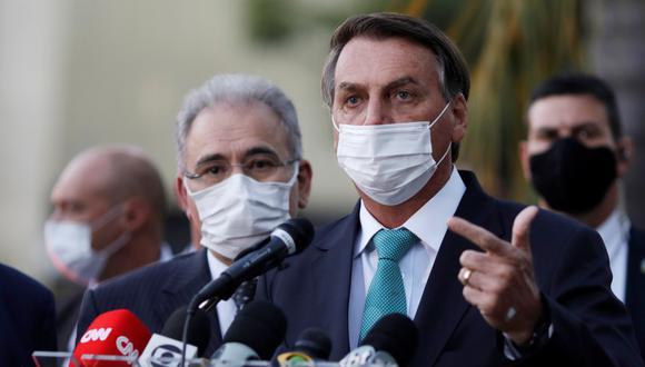 Jair Bolsonaro, presidente de Brasil. (Foto: Reuters)