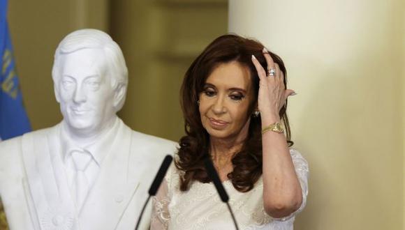 Cristina Fernández, ex presidenta de Argentina.