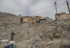 """Jorge Muñoz  dice que """"hay amenazas de invasiones"""" en cerro San Cristóbal"""