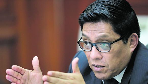 Agenda. Zeballos reveló que el miércoles se votará el marco electoral para los comicios del 2020. (Foto: PCM)