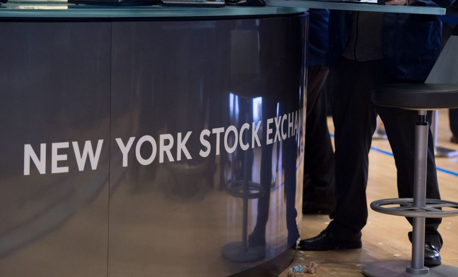 La New York Stock Exchange (NYSE) en Wall Street. (Foto: AFP)