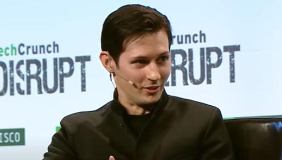 El joven ruso Pavel Durov junto a su hermano crearon la app Telegram. (Foto: Captura TechCrunch)