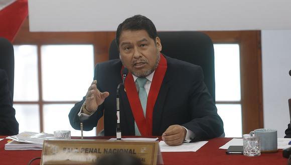 El juez César Sahuanay preside la Segunda Sala Penal de Apelaciones que tiene a su cargo el caso de Keiko Fujimori. (Foto: GEC)