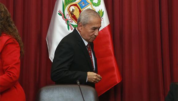 Fiscal de la Nación, Pedro Chávarry, fue nuevamente denunciado ante el Congreso de la República. (Foto: Agencia Andina)