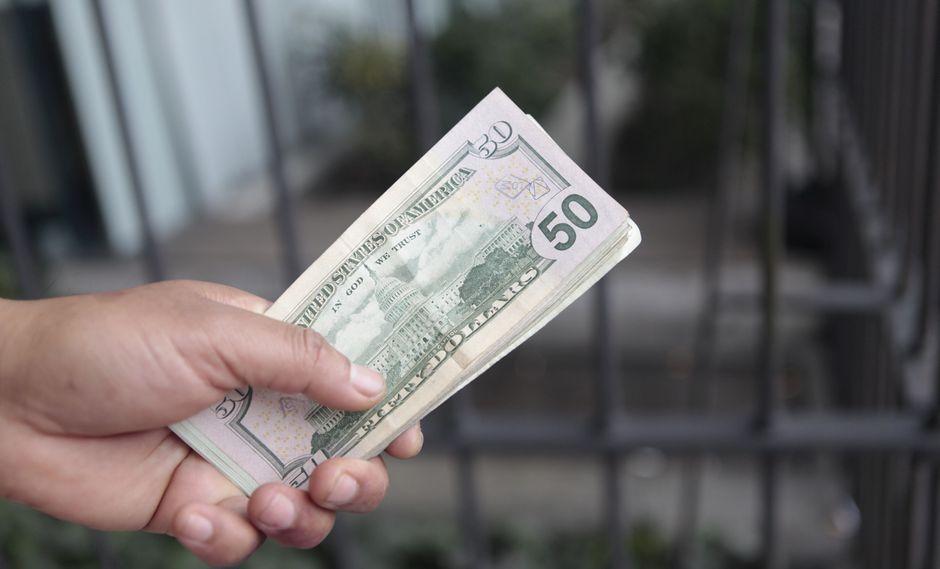 El año pasado el dólar subió un 4.05%. (Foto: GEC)