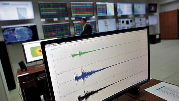 Actividad sísmica es alta.