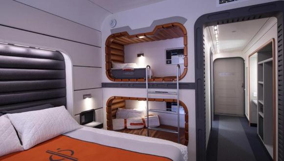 Para tres invitados que compartan una cabina (dos adultos y un niño), Disney indicó que el precio será de US$ 889 por noche o US$ 5,299 por todo el viaje. (Foto: Difusión)