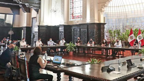 Integrantes del Ejecutivo brindarán conferencia de prensa este lunes 5 de abril. (Foto: Presidencia)