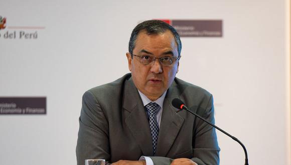 El ministro de Economía y Finanzas, Carlos Oliva, respondió a los casinos y tragamonedas por la aplicación del ISC. (Foto: MEF)