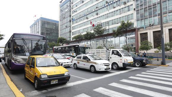 Transporte de carga, de pasajeros y taxis. (Foto: USI)