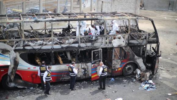 La tragedia del bus enlutó a los limeños. (Foto: Giancarlo Ávila)